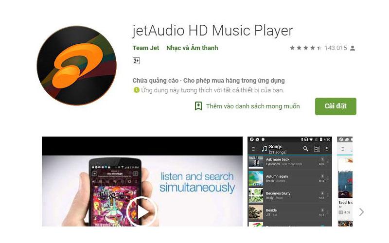 ứng dụng nghe nhạc online