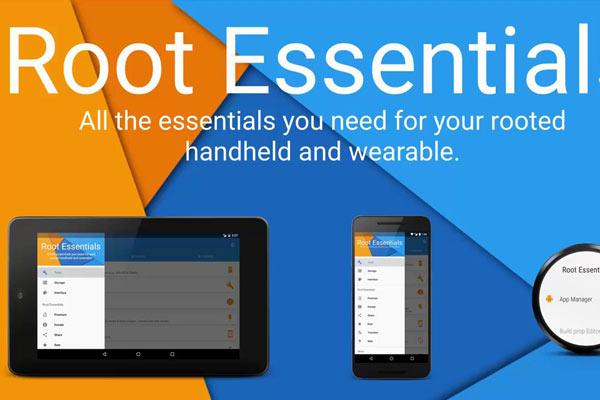 Root Essentials là một trong những ứng dụng hay cho Android đã root