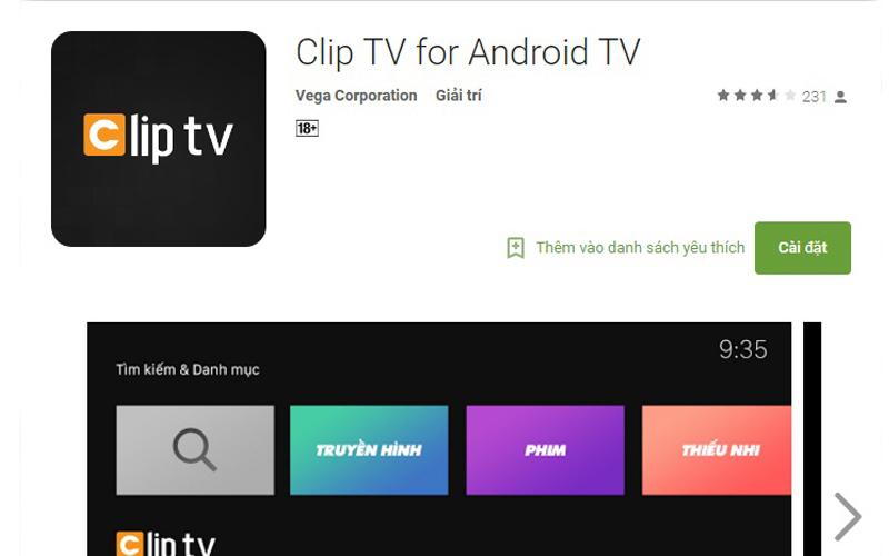 Clip TV là ứng dụng xem truyền hình cho Android TV Box hàng đầu tại Việt Nam