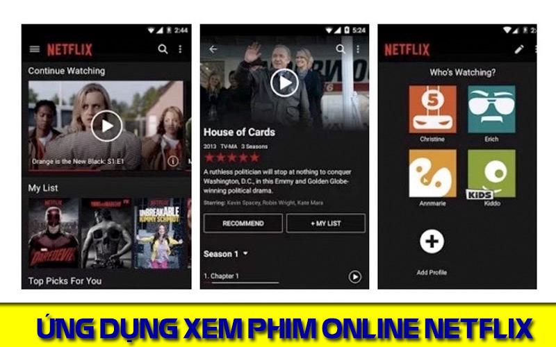 Trải nghiệm chất lượng phim 4k với ứng dụng xem phim hay cho android Netflix