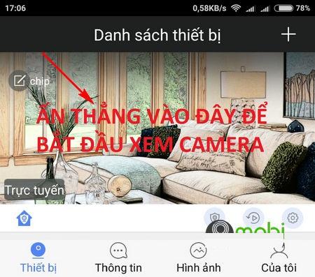 cài đặt xem camera trên điện thoại iphone